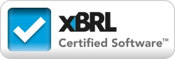 XBRL Certified Software