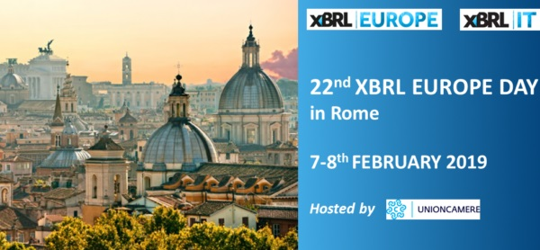 XBRL Congress Rome - Europe day