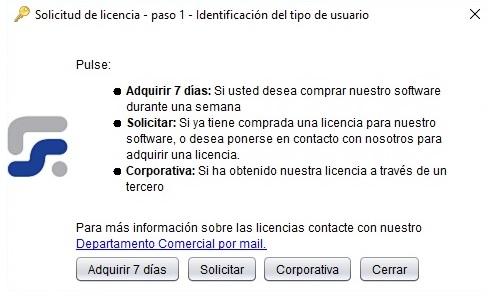 Solicitud de licencia Reporting Standard XBRL